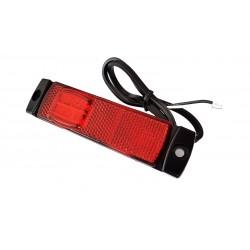Obrysówka płaska LED czerwona